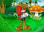 Knuckles- Years Later by Jade-the-Tiger
