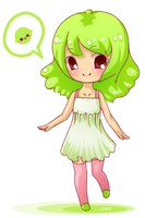 Lime Whisper Auction Mascot by haine905