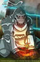 Alphonse Elric by Wingedmaquis