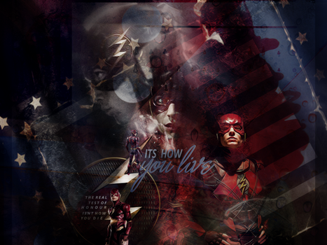 The Justice League The  Flash Blend by VaLeNtInE-DeViAnT