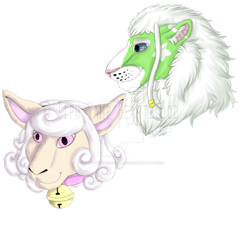 [Digital Art] ~ Yu and Rova ~ by Vamp-Tiph-Heartblood