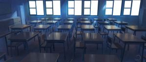 Class Room by D-dy