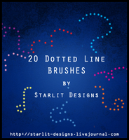 20 dotted line brushes by mystique87