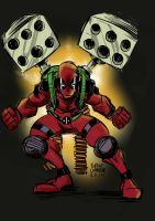Deadpool by eugenecommodore