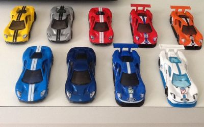 2016 Ford GT Race Car and 2017 Ford GT by GamePonySly