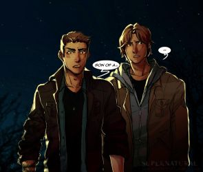 :SPN: there'll be peace when you are done by BTRumple