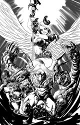 Darkness Angelus by defected-angel