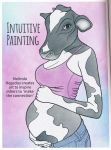 Pregnant Anthro Cow by CCB-18