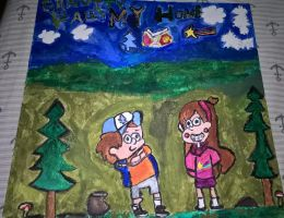 Mabel and Dipper Pines by JinxBatstar