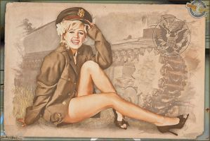 Pinups - Enlisted Army by warbirdphotographer