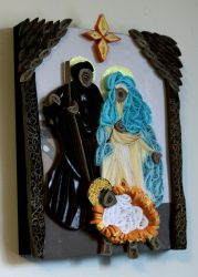 Quilled Nativity by El-Sharra