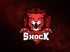 Logo design for the AfterShock Gaming by MYeSportdesign