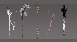 Weapon Adopt Auction OPEN by Tiffany-Tees