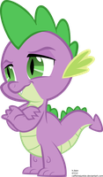 Confident Spike Vector by caffeinejunkie