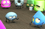 Zbrush Doodle: Day 1136 - Disgruntled Football by UnexpectedToy