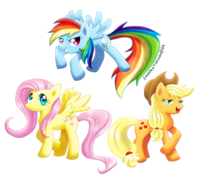 My Little Pony by Sandette