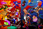 SSB vs PS All Stars Remake by Thesimpleartist4
