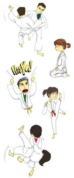 Judo sketches by tzeqi