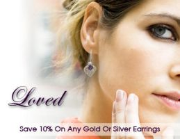 Black Hills Gold Earrings Ad by webgentry