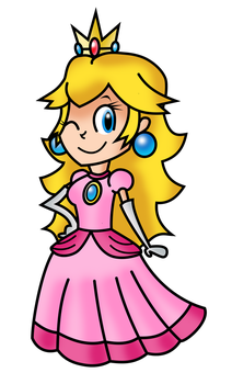 Princess Peach by Fawfulthegreat64
