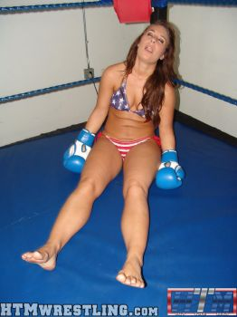 Allie Parker Down by boxingwrestling