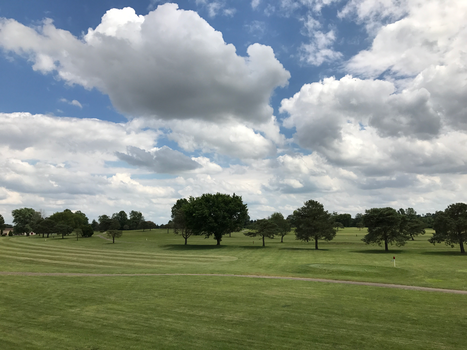 BT GC Clouds Over the Course IMG 1985 by TheStockWarehouse