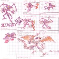 Ridley's Superpowers for SSB4 by MarioStrikerMurphy