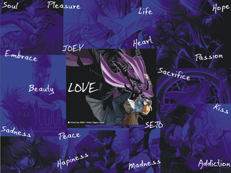 To the abism of Madness: LOVE by EiriSaiyuki