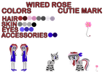 (C) Wired Rose by BloodLover2222