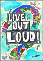 live out loud by cathysquarepants