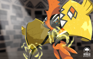 Tapu Koko by hitallo