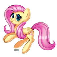 Fluttershy by YellowFeatherBolt