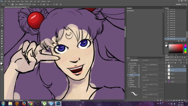 Sailor Moon WIP by Duet