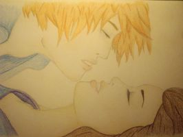 Edward and bella kiss by Twillight-lover