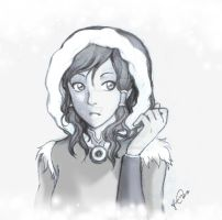 Korra - Back to Water Tribe by Lukia-Lokelani