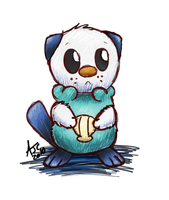 Oshawott by Dragowl