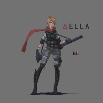 Della ( early stage ) ( Pixel style ) by lhlclllx97