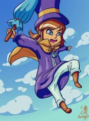 Hat Kid by SureyD
