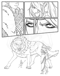 DAI - Final encounter with the Dread Wolf WIP by NecrosisDemon