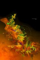 leaving abstract ver.3 by Feni-x
