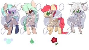 Pony Designs - 3 - ALL SOLD by Rue-Willings