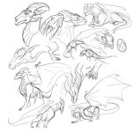 Dragon scribbles by ShoutFinder