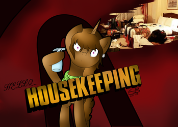 Hello, Housekeeping by SubtleBrush