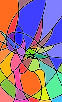 Geometric curvatures in colour by TunRae