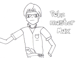 Poke Master Max- Lineart by Ford206