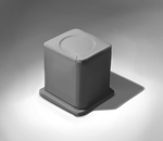 Value Study: Cube on Pedestal by DuaneL1me