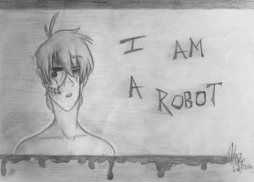 I Am a Robot by HugaDuck