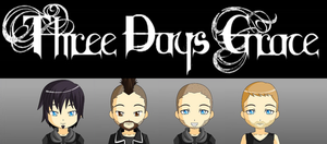 Three Days Grace by JackHammer86