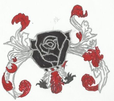 Roses of War  Frome-Remsnider House Crest Concept by DareSmithCreations
