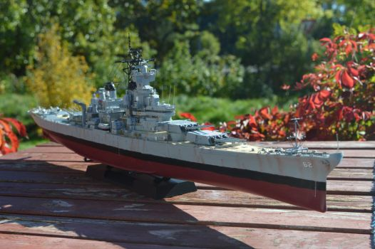 1/350 U.S.S. New Jersey BB-62 (1982) - COMPLETE by janda700